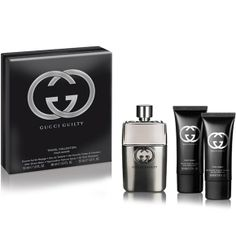 Gucci Guilty Pour Homme Set € 65,00 http://www.dutyfreeshops.gr/gr/aromata/gia-ton-andra-/gucci-guilty-set/