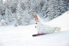 Sweet Violet Bride - http://sweetvioletbride.com/2012/05/stowe-snowboarding-wedding-landwehrle-photography/