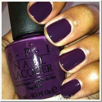 Purple Opi Nail Polish