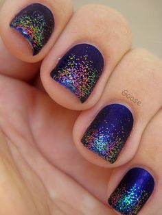 Glitter Gradient - Finger Paints It's an Original and Ozotic Elytra 528
