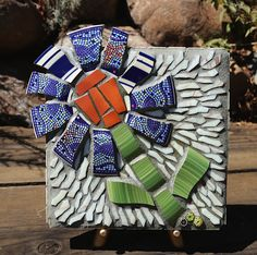 Fun to makebroken plates and tile