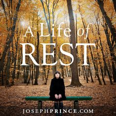 The fights in this life may be many, but your only fight is to fight to be at rest. Learn from the Bible stories of Samson and Noah the dangers of being out of rest and more importantly, how rest causes you to experience God's favor, power, restoration, protection and provision. Check out the DVD album at http://www.josephprinceonline.com/portfolio/a-life-of-rest/