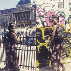 One of our wonderful customers rocking her @highspiritbag while on holiday in Brussels! :-) #highspirit #highspiritbag #bag #backpack #travel #seetheworld #brussels #tourist #tourism #fashion #accessories #style #stylist #stylish #vacation #holiday #london #graffiti #art #unicorn #experience #love #fun #architecture #buildings #theftproofbag #theftproof