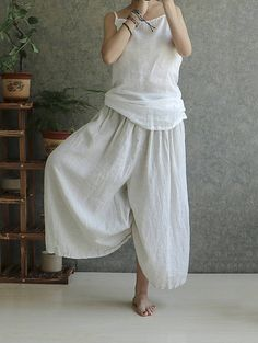 Hey, I found this really awesome Etsy listing at https://www.etsy.com/au/listing/534815445/cotton-and-linen-trousers-louis-vuitton