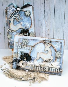 Holiday Card/Tag set - Creative Embellishments - Scrapbook.com