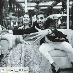 """via ··· """" Our best wishes to such a wonderful couple. We truly had the most amazing time at your lovely wedding! Keep smiling forever ❤ """" Wedding Film, Moving Forward, Couple Goals, Cricket, Candid, Monochrome, Blue Army, Wedding Photography, Celebs"""