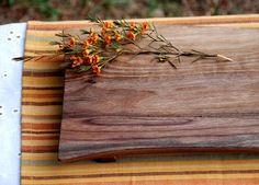 Rustic Walbnut Cutting Board. $86.00, by Graywork Design via Etsy.