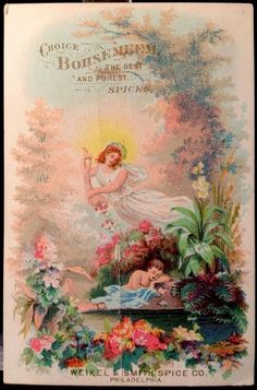 Bohsemeem Spices Victorian #TradeCard 1880s Weaker & Smith Philadelphia #2 #BohsemeemSpices