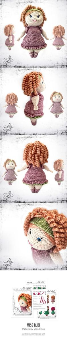 Miss Rubi Amigurumi Pattern for purchase