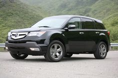 The Acura MDX SUV is ready to make its way down the roughest roads.