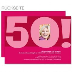 Einladungskarte Zum 50. Geburtstag Http://www.carteland.de/einladungskarten