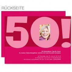 Einladungskarte zum 50. Geburtstag http://www.carteland.de/einladungskarten/einladungskarten-geburtstag/einladungskarten-geburtstag-erwachsene/einladungskarten-geburtstag-423.html