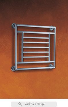 Myson Thirlmere B35-1 Traditional Hydronic Brass Construction Towel Warmer At:$125.00    Traditional hydronic towel warmers by Myson are available in floor standing and wall mounted models and offer up to 2,520 Btu/hour.