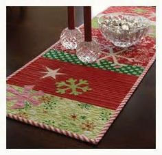 snowflakes this christmas quilting project will make your table merry