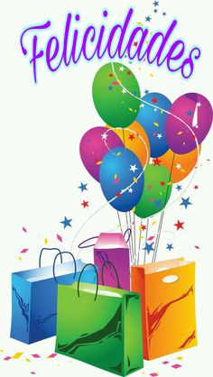 Festive Balloons and Shopping Bags Vector Happy Birthday Clip Art, Happy Birthday Wishes Cards, Birthday Clipart, Birthday Blessings, Happy Birthday Pictures, Happy Birthday Quotes, Birthday Greetings, Birthday Gifts, Happy B Day