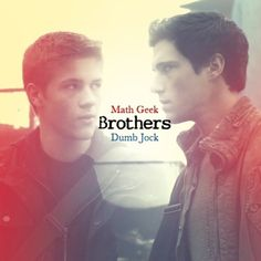 """Connor Jessup as Ben and Drew Roy as Hal from the TV Show """"Falling Skies""""."""