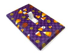 Halloween Decoration Candy Corn Light Switch Cover by ModernSwitch, $8.00