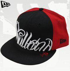 New Era NITTI Black/White/Red Cap by Sullen Hat Hats by Sullen: New Era, Flexfit and Snapback NEW ERA Sullen Hat #hats #painfulpleasures #sullen #clothing #fashion #snapback #flexfit #newera
