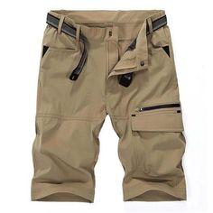ZHAN DI JI PU Summer Thin Shorts Loose Mens Casual Shorts Leisure Trousers Man Men Male Clothing Plus Size XXXXXL