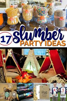 17 Creative Slumber Party Ideas - Spaceships and Laser Beams Slumber Party Foods, Adult Slumber Party, Boy Sleepover, Sleepover Birthday Parties, Sleepover Activities, Birthday Party For Teens, 10th Birthday, Slumber Party Ideas, Birthday Ideas