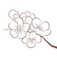 """Papier peint """"fleurir, """"inflorescence, fleurissant - printemps fleur de cerisier"""" ✓ Un large choix de matériaux ✓ Impression écologique 100% ✓ Regardez des opinions de nos clients !"""