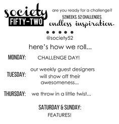 @society52 - week challenge IG feed...