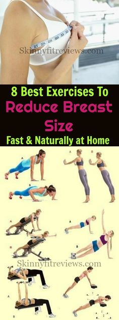 Are you looking to reduce breast size fast naturally? These exercises are a sure way to get smaller breasts. Try these moves to firm up your breasts now!