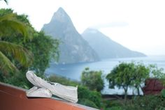 Lucky kigo drives after a hike of Gros Piton Mtn. in St. Lucia!