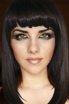 Deea make-up: HALLOWEEN Make-up : Cleopatra