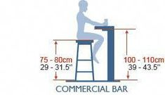 Stool height for commercial bar Bar Chairs, Bar Stools, Desk Chairs, Room Chairs, Dining Chairs, Home Bar Designs, Counter Design, Modern Stools, Bar Seating