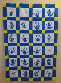 Class quilt - I want to do this for my very first class.
