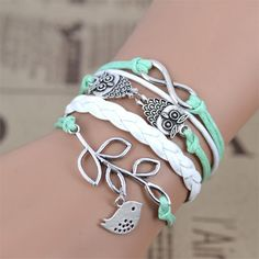 Best price on Handmade Leather Bracelet Infinity Love Great Gift    Price: $ 9.80  & FREE Shipping    Your lovely product at one click away:   http://mrowlie.com/handmade-leather-bracelet-infinity-love-great-gift/    #owl #owlnecklaces #owljewelry #owlwallstickers #owlstickers #owltoys #toys #owlcostumes #owlphone #phonecase #womanclothing #mensclothing #earrings #owlwatches #mrowlie #owlporcelain
