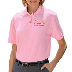 Ask us about custom logo embroidered men's contrast polo shirts for work or as uniform polos. Our Nike dri-fit contrast polo shirts include the shoulder stripe and the color block polo shirts. We also carry multi-stripe trim and two-tone UltraClub polo shirts. Or try custom logo embroidery on our Harriton short sleeve polo shirt, or the Port Authority silk touch sport shirt, both with trim.
