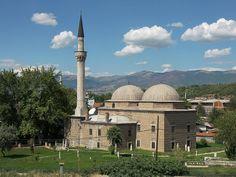 Aladja Mosque in Skopje, Macedonia