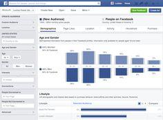 Facebook presentó #Audience #Insights