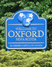 Oxford, Nova Scotia, is known for being the Wild Blueberry Capital of Canada. Oxford is a central location for distribution and processing of fresh wild blueberries that are grown in Cumberland County. Capital Of Canada, O Canada, Places To Travel, Places To Go, Cumberland County, Atlantic Canada, Prince Edward Island, New Brunswick, Newfoundland