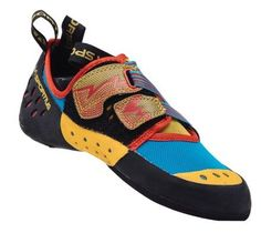 La Sportiva Men's Oxygym Climbing Shoes Blue/Red 41.5