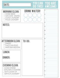 TheBusyBudgetingMama-Daily Schedule