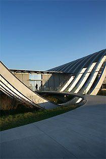 Paul Klee Center Bern by Renzo Piano