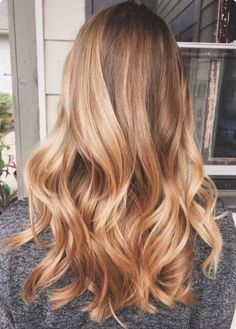 Honey Blonde Hair #honeyblonde #blondehair