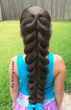 18 Gorgeous Braids Hairstyle For Long Hair You Would Fall In Love instantly Little Girl Hairstyles, Pretty Hairstyles, Braided Hairstyles, Hairstyles Haircuts, Girl Haircuts, Hairstyle Ideas, Hairstyles Pictures, Black Hairstyles, Hairdos