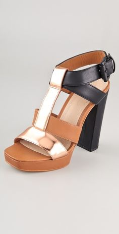 Elizabeth and James - sam t strap high heel sandals on shopbop