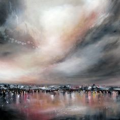 "Saatchi Art Artist Alison Johnson; Painting, ""Reflections and Light "" #art"