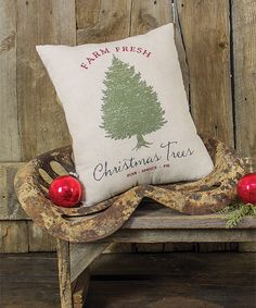 'Christmas Trees' Pillow (aff)
