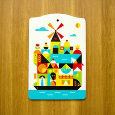 """Image of """"Holland"""" cutting board"""