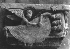 The Magi Sleeping, Autun Cathedral, Autun, France, 12th c.