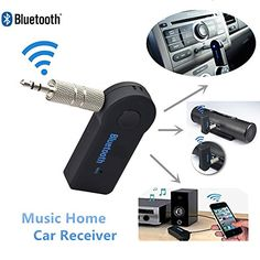 Bluetooth Wireless Transmitter Receiver Surround Audio Music Sound System for Home and Car ** Read more reviews of the product by visiting the link on the image. (Note:Amazon affiliate link)