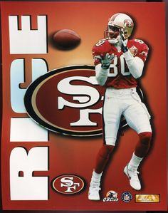 80253753d Jerry Rice San Francisco 49ers Hard-to-find 8