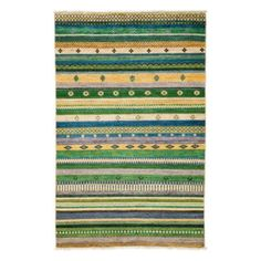 """Tribal Collection Oriental Rug, 4'2"""" x 6'2"""" 