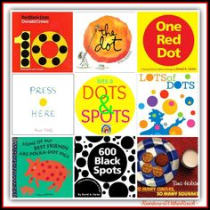 Fostering Imagination: Get to the Library, Choose these Spots + Dots! Create your response. {Sulia article with additional links}